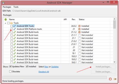 install-sdk-platform-tools