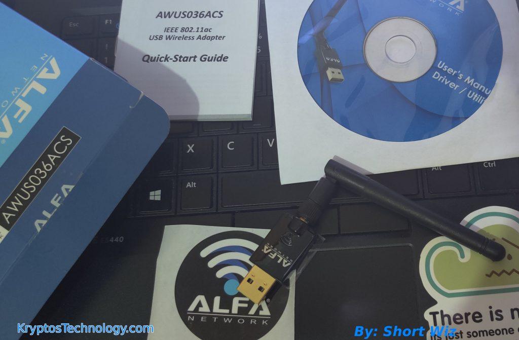 ALFA AWUS036ACS driver kali linux